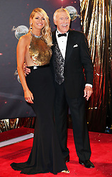 Sir Bruce Forsyth and Tess Daly at the launch of the new series of Strictly Come Dancing,  in London, Tuesday, 3rd September 2013. Picture by Stephen Lock / i-Images<br />