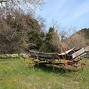 Abandoned Wagon - Old Ice House - Oak Glen, CA