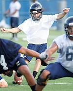 Florida International University Football team August 2012 practice.