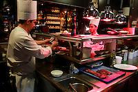 chefs in the kitchen-Restaurant Augustin, Paris