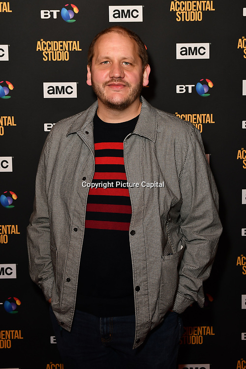 Tony Way Arrivers at Premiere of documentary about the British film production company, Handmade Films, created by George Harrison of the Beatles on 27 March 2019, London, UK.