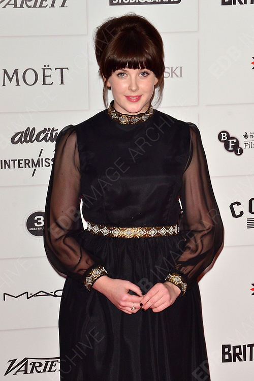 09.DECEMBER.2012. LONDON<br /> <br /> ALEXANDRA ROACH ATTENDS THE BRITISH INDEPENDENT FILM AWARDS AT OLD BILLINGSGATE MARKET. <br /> <br /> BYLINE: JOE ALVAREZ/EDBIMAGEARCHIVE.CO.UK<br /> <br /> *THIS IMAGE IS STRICTLY FOR UK NEWSPAPERS AND MAGAZINES ONLY*<br /> *FOR WORLD WIDE SALES AND WEB USE PLEASE CONTACT EDBIMAGEARCHIVE - 0208 954 5968*
