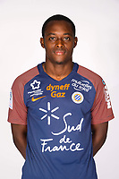 Jerome Roussillon during photoshooting of Montpellier Herault  for new season 2017/2018 on September 3, 2017 in Montpellier<br /> Photo : Mhsc / Icon Sport