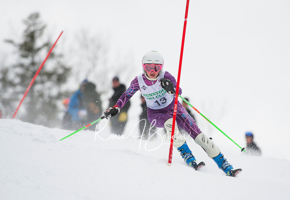 Tecnica Cup alpine ski race at Gunstock Ski Club January 19, 3013.