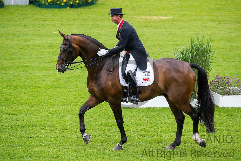 Carl Hester - Nip Tuck<br /> FEI European Championships Aachen 2015<br /> &copy; DigiShots