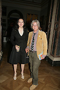 OLGA OF GREECE AND NICKY HASLAM, Royal  Academy of  Arts summer exhibition opening night. Royal academy. Piccadilly. London. 6 June 2007.  -DO NOT ARCHIVE-© Copyright Photograph by Dafydd Jones. 248 Clapham Rd. London SW9 0PZ. Tel 0207 820 0771. www.dafjones.com.
