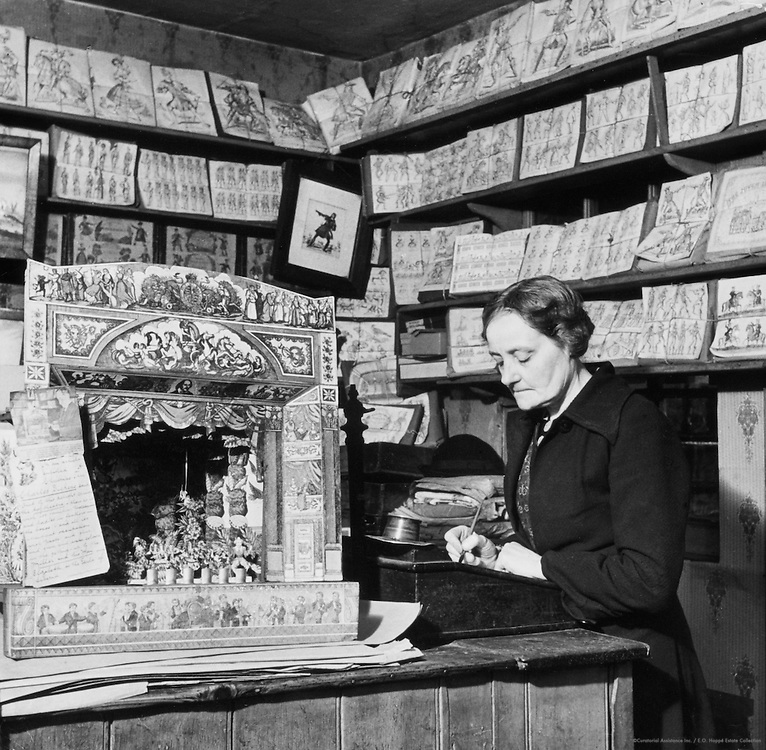 """London's Most Enchanting Shop,"" Dulwich, London, c.1935"