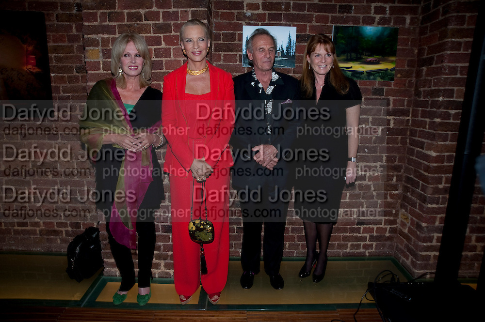 JOANNA LUMLEY; PRINCESS MICHAEL OF KENT; MARK SHAND; SARAH THE DUCHESS OF YORK, The launch party for Elephant Parade hosted at the house of  Jan Mol. Covent Garden. London. 23 June 2009.