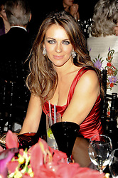 ELIZABETH HURLEY at the 20th annual Cartier Racing Awards - the most prestigious award ceremony within European horseracing, held at The Dorchester Hotel, Park Lane, London on 16th November 2010.