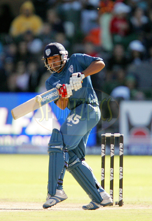 PORT ELIZABETH, SOUTH AFRICA - 02 May 2009. Rohit Sharma during the  IPL Season 2 match between the Deccan Chargers and the Rajatshan Royals held at St Georges Park in Port Elizabeth , South Africa..