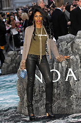 Sinitta arrives for the UK premiere of the film 'Noah', Odeon, London, United Kingdom. Monday, 31st March 2014. Picture by Chris Joseph / i-Images
