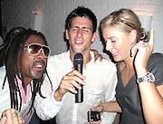 **EXCLUSIVE**.Pop Artist Jeffery Dread with Novak Djokovic & Maria Sharapova.After losing the US Open to Roger Federer Novak Djokovic parties with Maria Sharapova and Jeffery Dread.Unik's Karaoke Sunday Party.Cipriani Downtown .New York City, NY, USA.Sunday, September, 09, 2007.Photo By Selma Fonseca/ Celebrityvibe.com.To license this image call (212) 410 5354 or;.Email: celebrityvibe@gmail.com; .Website: http://www.celebrityvibe.com/.