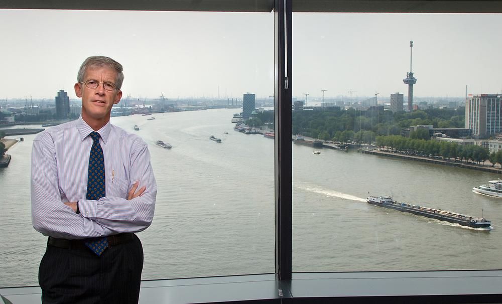 Hans Smits, former president of the Port of Rotterdam // Hans Smits, voormalig directeur van het Havenbedrijf Rotterdam.