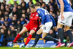 Andrej Kramaric of Leicester City in action  - Photo mandatory by-line: Matt McNulty/JMP - Mobile: 07966 386802 - 22/02/2015 - SPORT - Football -  - Goodison Park - Everton v Leicester City - Barclays Premier League