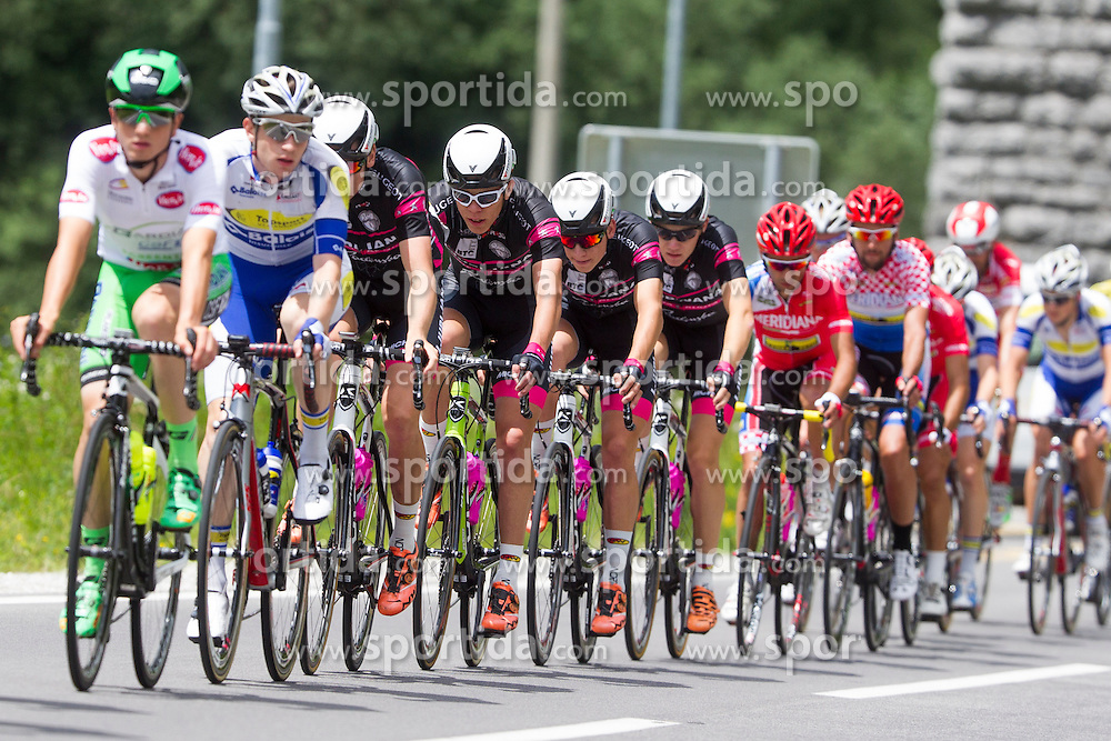 Cyclists of KK Radenska during Stage 2 of 23rd Tour of Slovenia 2016 / Tour de Slovenie from Nova Gorica to Golte  (217,2 km) cycling race on June 17, 2016 in Slovenia. Photo by Urban Urbanc / Sportida