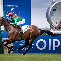 La Sardane (F. Blondel) wins Prix de Sandringham Gr. 2 in Chantilly, France, 04/06/2017 Photo: Zuzanna Lupa / Racingfotos.com