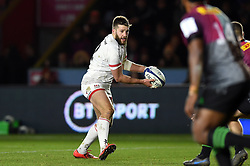 Stuart McCloskey of Ulster in possession - Mandatory byline: Patrick Khachfe/JMP - 07966 386802 - 13/12/2019 - RUGBY UNION - The Twickenham Stoop - London, England - Harlequins v Ulster Rugby - Heineken Champions Cup