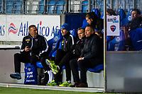 Fotball , 11 Mars 2018 , Eliteserien , Molde - Sandefjord , Erik Magnus Powell , Shaun David Constable , Sindre Eia Holtung , Leif Arne Ness<br /> <br /> <br />  , Foto: Marius Simensen, Digitalsport