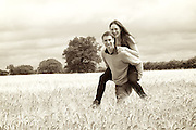 David Malies and Clare Crawford .Pre-wedding shoot.17 July 2011