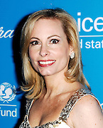 Gillian Miniter poses at the 2009 UNICEF Snowflake Ball Arrivals in New York City on December 2, 2009.