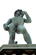 statue of David at Pliazzale Michelangelo Florence Italy