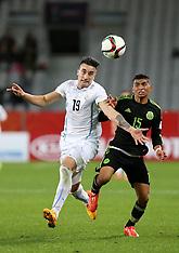 Dunedin-Football, Under 20 World Cup, Mexico v Uruguay