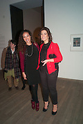 PRINCESS ALIA AL-SENUSSI,; PRINCESS SALHA SOUSSI, Richard Hamilton opening, Tate Modern. London. 11 February 2014