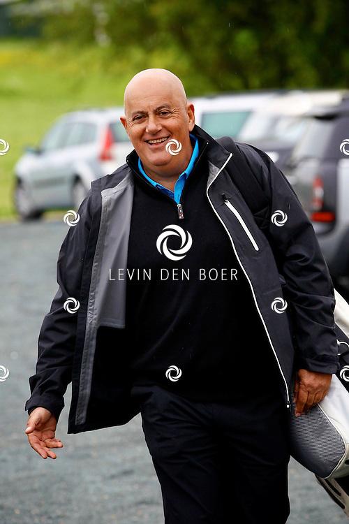 BADHOEVEDORP - De DON Masters is een celebrity golftoernooi, waarbij iedere flight bestaat uit 3 deelnemers en 1 bekende Nederlander. Het toernooi plaats op Golfclub The International. Met op de foto  Jack van Gelder. FOTO LEVIN DEN BOER - PERSFOTO.NU
