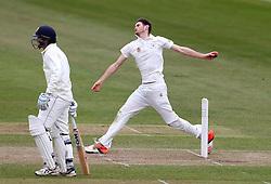 David Payne of Gloucestershire bowls - Mandatory by-line: Robbie Stephenson/JMP - 01/04/2016 - CRICKET - Bristol County Ground - Bristol, United Kingdom - Gloucestershire v Durham MCC University - MCC University Match