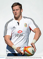 13 June 2013; Dan Lydiate, British & Irish Lions, during forwards training ahead of their game against NSW Waratahs on Saturday. British & Irish Lions Tour 2013, Forwards Training, North Sydney Oval, Sydney, New South Wales, Australia. Picture credit: Stephen McCarthy / SPORTSFILE