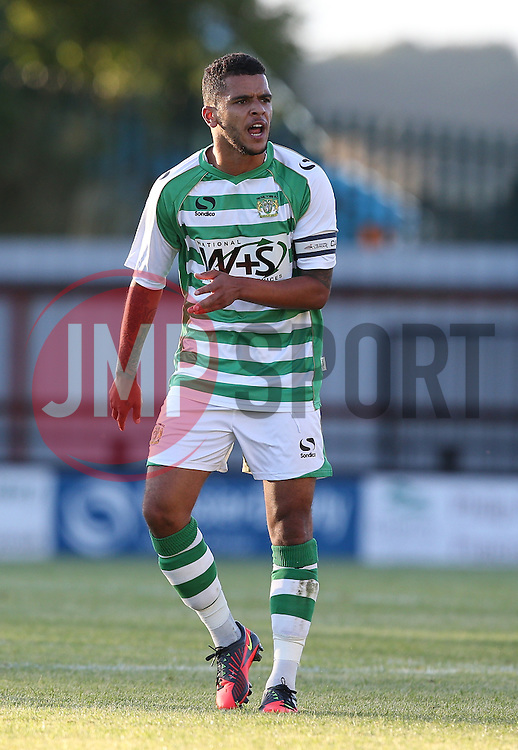 Billy Clifford of Yeovil Town - Photo mandatory by-line: Kieran McManus/JMP - Tel: Mobile: 07966 386802 29/07/2013 - SPORT - FOOTBALL - Gloucestershire -  Forest Green Rovers V Yeovil Town