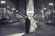 Nate & Stephanie Chicago Wedding Portraits