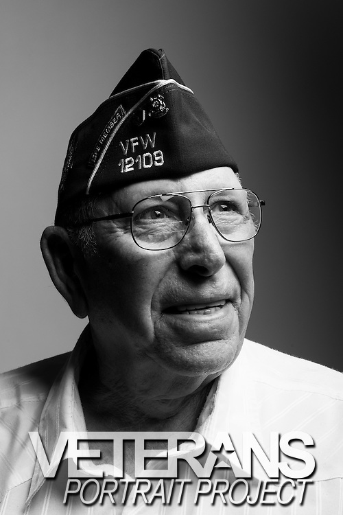 Henry E. Ivester<br /> Air Force<br /> E-7<br /> Aircraft Mechanic<br /> Jan. 1954 - Apr. 1977<br /> Korea, Vietnam (2 tours)<br /> <br /> Veterans Portrait Project<br /> Louisville, KY<br /> VFW Convention <br /> (Photos by Stacy L. Pearsall)