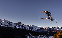 27.02.2019, Seefeld, AUT, FIS Weltmeisterschaften Ski Nordisch, Seefeld 2019, Skisprung, Damen, im Bild Daniela Iraschko-Stolz (AUT) // Daniela Iraschko-Stolz of Austria during the ladie's Skijumping of the FIS Nordic Ski World Championships 2019. Seefeld, Austria on 2019/02/27. EXPA Pictures © 2019, PhotoCredit: EXPA/ JFK