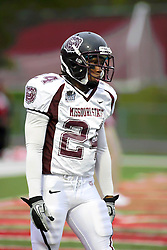 25 September 2010:  Jimmie Strong.  The Missouri State Bears lost to the Illinois State Redbirds 44-41 in double overtime, meeting at Hancock Stadium on the campus of Illinois State University in Normal Illinois.