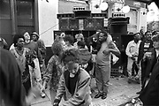 Dancing, Notting Hill Carnival, London, 1989