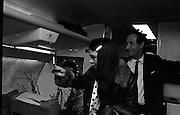 Dana Arrives after Eurovision Success.23/03/1970