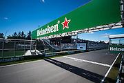 June 9-12, 2016: Canadian Grand Prix. Heineken branding at the Canadian GP