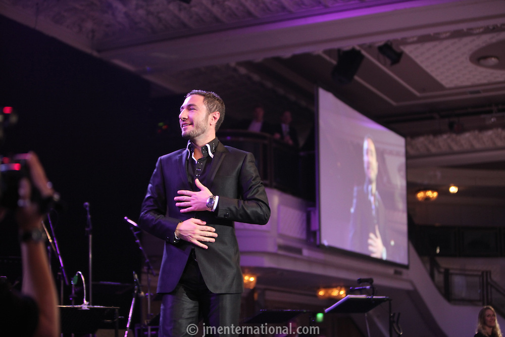 Vincent Simone, the 2011 MITs Award. Held at the Grosvenor Hotel London in aid of Nordoff Robbins and the BRIT School. Monday, Nov.7, 2011