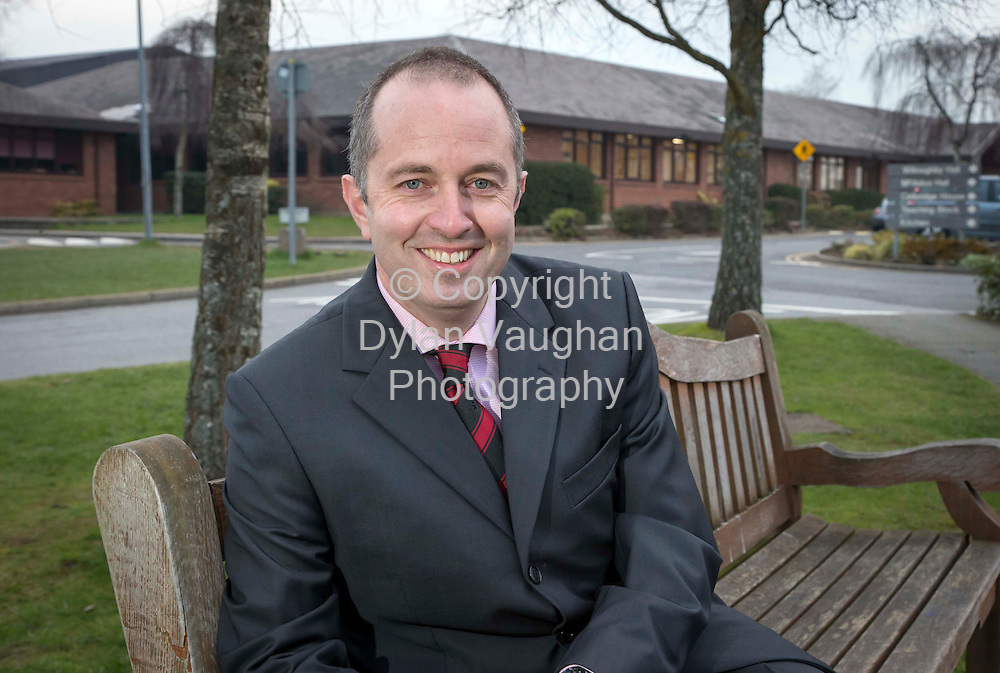 20/2/2013.Aubrey O'Keeffe deputy principal, pictured at Kilkenny College..Picture Dylan Vaughan