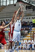DESCRIZIONE : Roseto Degli Abruzzi Giochi del Mediterraneo 2009 Mediterranean Games Turchia Italia Turkey Italy Final Men<br /> GIOCATORE : Andrea Crosariol<br /> SQUADRA : Italia Italy<br /> EVENTO : Roseto Degli Abruzzi Giochi del Mediterraneo 2009<br /> GARA : Turchia Italia Turkey Italy <br /> DATA : 04/07/2009<br /> CATEGORIA : schiacciata<br /> SPORT : Pallacanestro<br /> AUTORE : Agenzia Ciamillo-Castoria/C.De Massis<br /> Galleria : Giochi del Mediterraneo 2009<br /> Fotonotizia : Roseto Degli Abruzzi Giochi del Mediterraneo 2009 Mediterranean Games Turchia Italia Turkey Italy Final Men <br /> Predefinita :