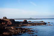 John Muir Way Dunbar sea and rocks