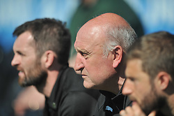 PAUL HART ASSISTANT MANAGER LUTON TOWN, Barnet v Luton Town EFL Sky Bet League 2 The Hive, Saturday 8th April 2017, Score 0-1<br /> Photo:Mike Capps