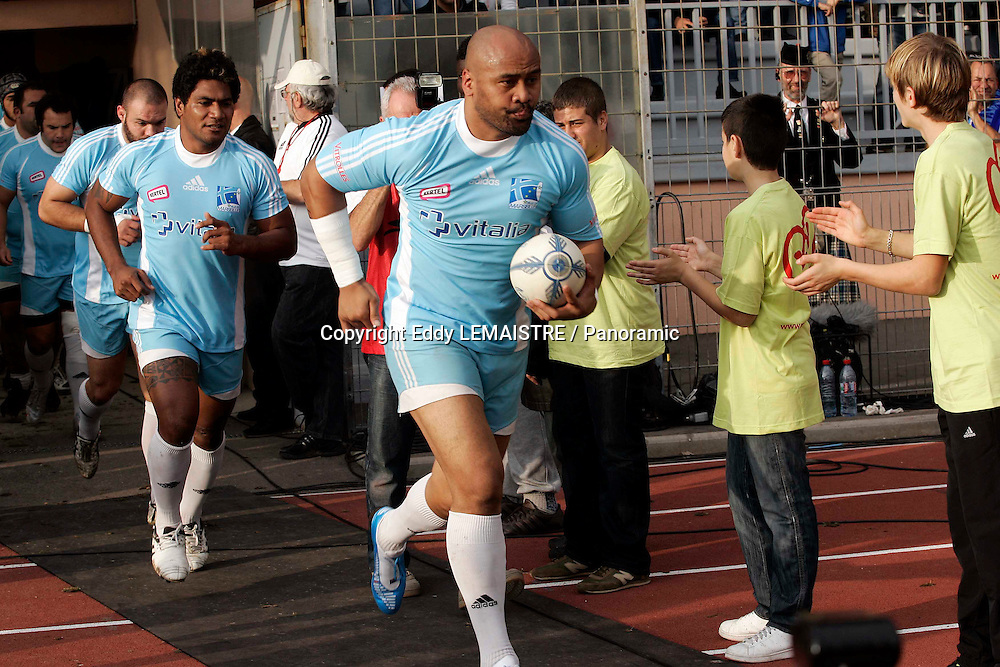 Rugby  :   Marseille Vitrolles - Montmelian - Jonah Lomu (MVR) effectue sa rentree  - Federale 1- Stade Jules Ladoumegue - Vitrolles  - 22-11-09