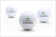 Photo of Patron Tequila golf balls for www.patrontequila.com e-commerce site.  Taken November, 2004.