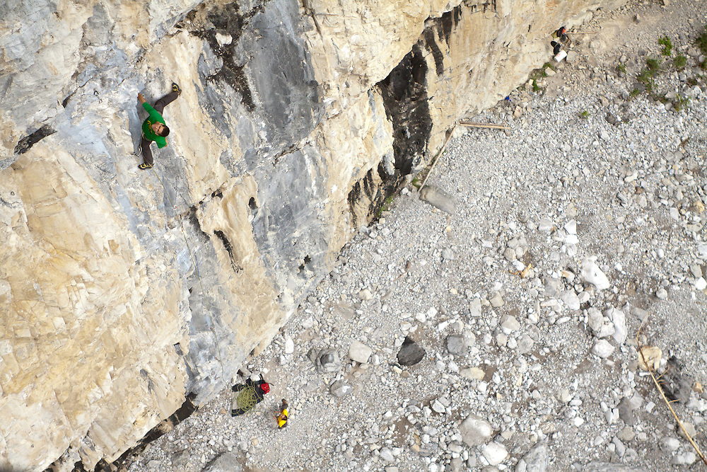Rock Climbing at Planet X in Cougar Canyon