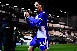 Alex Rodman of Bristol Rovers after the final whistle of the match - Mandatory by-line: Ryan Hiscott/JMP - 17/12/2019 - FOOTBALL - Home Park - Plymouth, England - Plymouth Argyle v Bristol Rovers - Emirates FA Cup second round replay