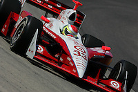 Ryan Briscoe at the Milwaukee Mile, ABC Supply Co./AJ Foyt 225, July 25, 2005