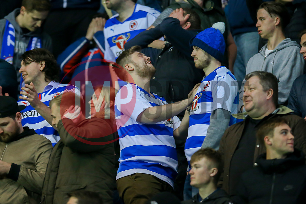 Reading fans - Mandatory by-line: Jason Brown/JMP - 04/04/2017 - FOOTBALL - Madejski Stadium - Reading, England - Reading v Blackburn Rovers - Sky Bet Championship
