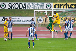 05.08.2010, Dolomitenstadion, Lienz, AUT, Friendly Match, Real Sociedad vs AEL Limassol, im Bild Antonio Ramirez ( Real Sociedad ). EXPA Pictures © 2010, PhotoCredit: EXPA/ J. Groder / SPORTIDA PHOTO AGENCY